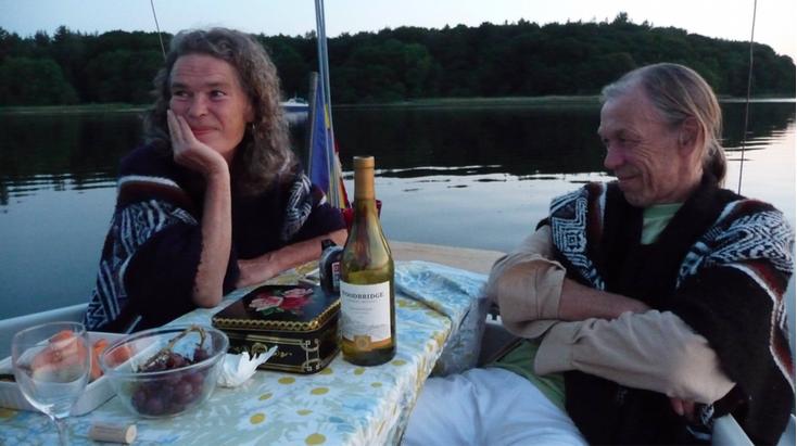 Louise Kirsebom og Johan Hjelmborg